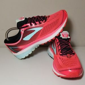 Brooks Ghost 10 Womens Running Shoes Sneakers 7.5